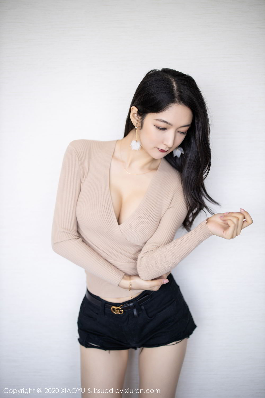 [XiaoYu] Vol.271 Di Yi 55P, Black Silk, Di Yi, Underwear, XiaoYu