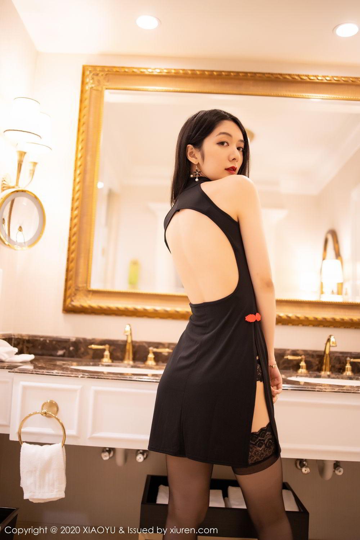 [XiaoYu] Vol.271 Di Yi 58P, Black Silk, Di Yi, Underwear, XiaoYu