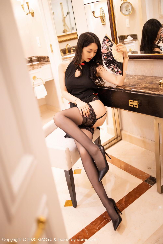 [XiaoYu] Vol.271 Di Yi 64P, Black Silk, Di Yi, Underwear, XiaoYu