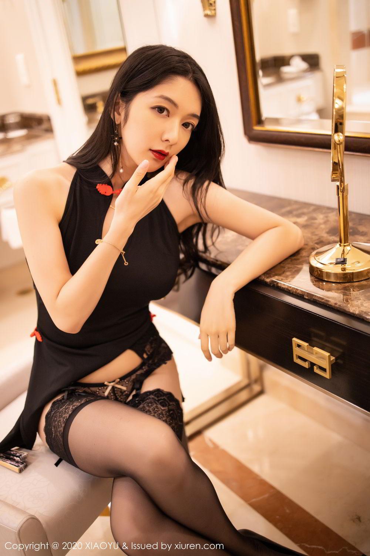 [XiaoYu] Vol.271 Di Yi 70P, Black Silk, Di Yi, Underwear, XiaoYu