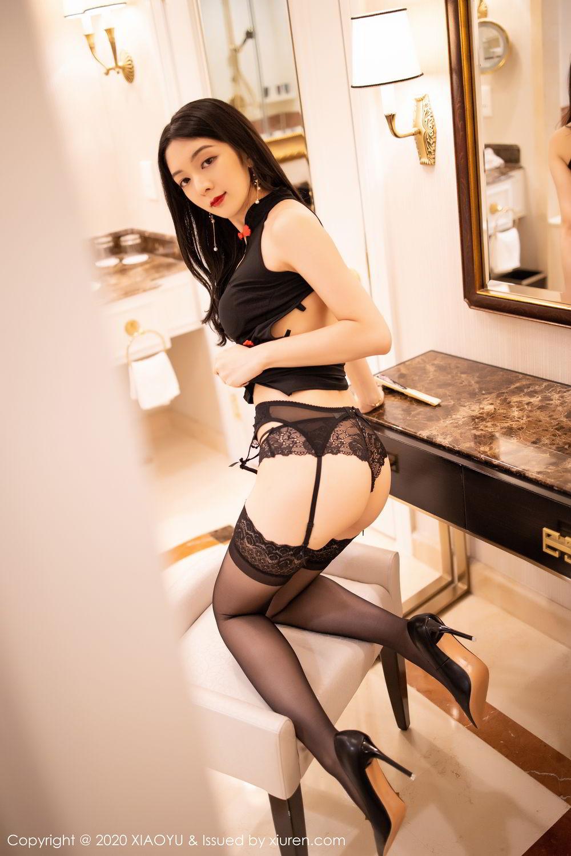 [XiaoYu] Vol.271 Di Yi 79P, Black Silk, Di Yi, Underwear, XiaoYu