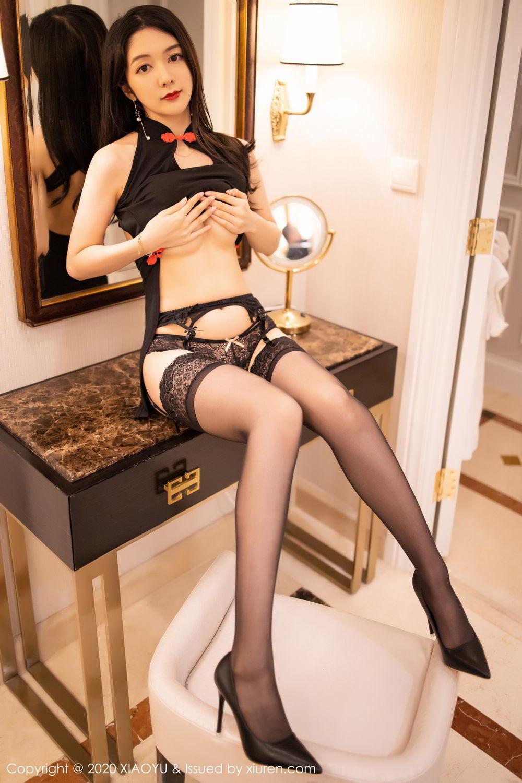 [XiaoYu] Vol.271 Di Yi 86P, Black Silk, Di Yi, Underwear, XiaoYu