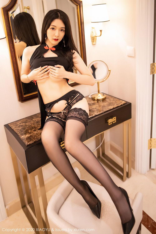 [XiaoYu] Vol.271 Di Yi 88P, Black Silk, Di Yi, Underwear, XiaoYu