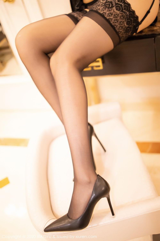 [XiaoYu] Vol.271 Di Yi 89P, Black Silk, Di Yi, Underwear, XiaoYu