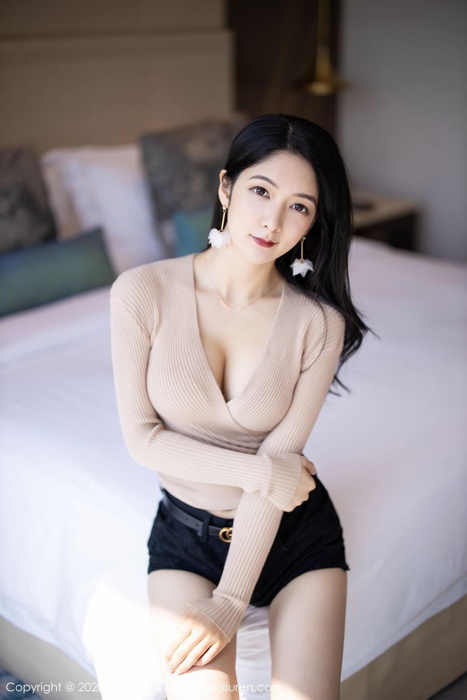 [XiaoYu] Vol.271 Di Yi 8P, Black Silk, Di Yi, Underwear, XiaoYu