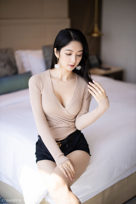 [XiaoYu] Vol.271 Di Yi 9P, Black Silk, Di Yi, Underwear, XiaoYu