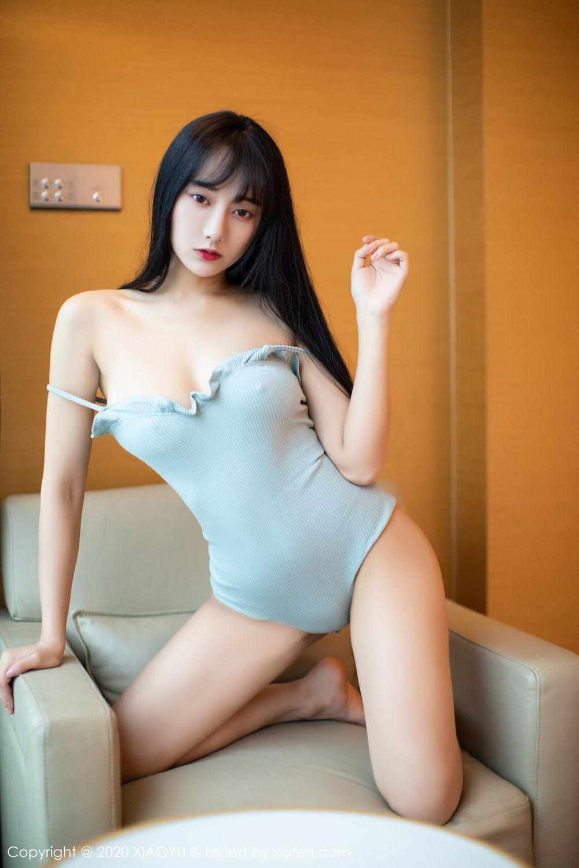 [XiaoYu] Vol.274 He Jia Ying 16P, Black Silk, He Jia Ying, Underwear, XiaoYu
