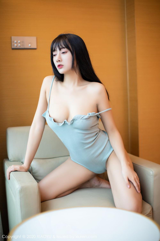 [XiaoYu] Vol.274 He Jia Ying 19P, Black Silk, He Jia Ying, Underwear, XiaoYu