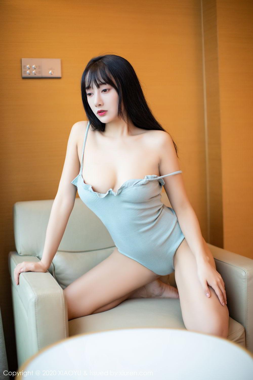 [XiaoYu] Vol.274 He Jia Ying 20P, Black Silk, He Jia Ying, Underwear, XiaoYu