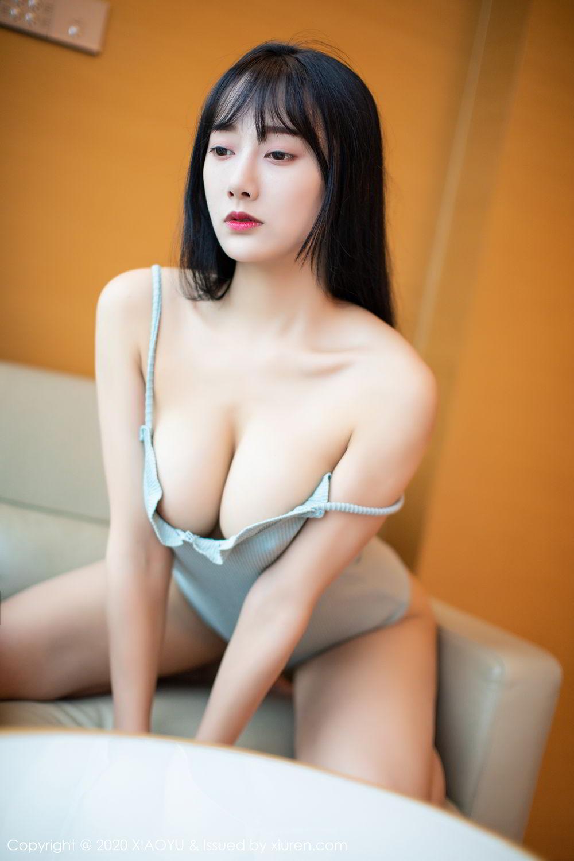 [XiaoYu] Vol.274 He Jia Ying 24P, Black Silk, He Jia Ying, Underwear, XiaoYu