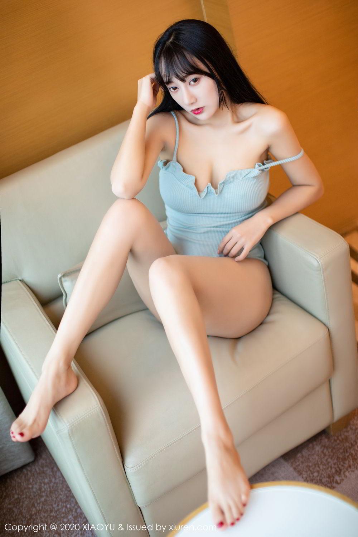 [XiaoYu] Vol.274 He Jia Ying 28P, Black Silk, He Jia Ying, Underwear, XiaoYu
