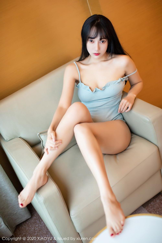[XiaoYu] Vol.274 He Jia Ying 29P, Black Silk, He Jia Ying, Underwear, XiaoYu