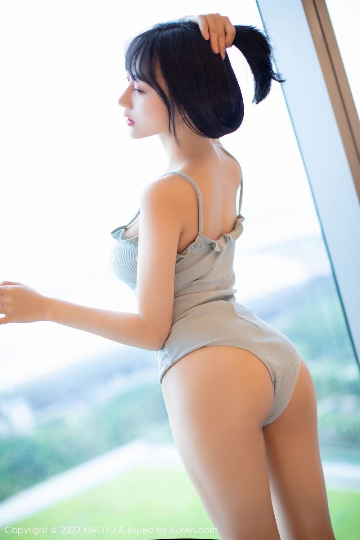 [XiaoYu] Vol.274 He Jia Ying 31P, Black Silk, He Jia Ying, Underwear, XiaoYu