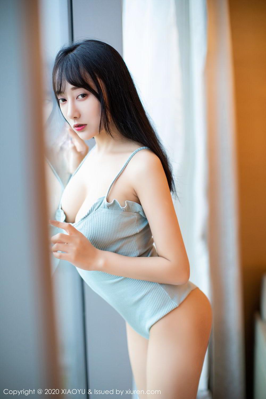 [XiaoYu] Vol.274 He Jia Ying 32P, Black Silk, He Jia Ying, Underwear, XiaoYu
