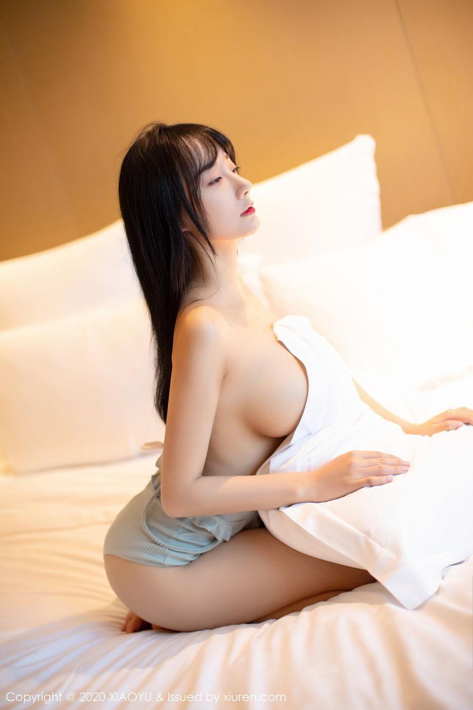 [XiaoYu] Vol.274 He Jia Ying 3P, Black Silk, He Jia Ying, Underwear, XiaoYu