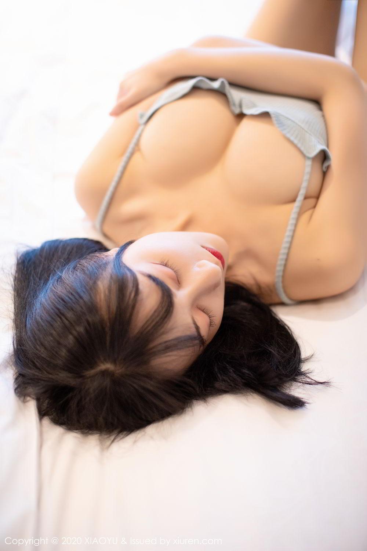 [XiaoYu] Vol.274 He Jia Ying 41P, Black Silk, He Jia Ying, Underwear, XiaoYu