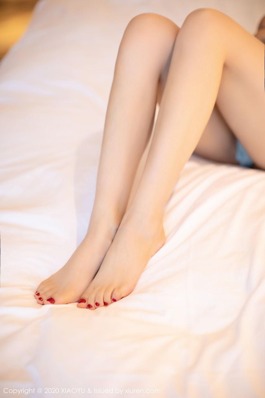 [XiaoYu] Vol.274 He Jia Ying 43P, Black Silk, He Jia Ying, Underwear, XiaoYu