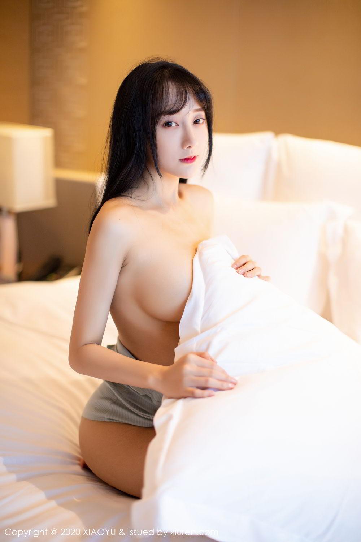 [XiaoYu] Vol.274 He Jia Ying 44P, Black Silk, He Jia Ying, Underwear, XiaoYu