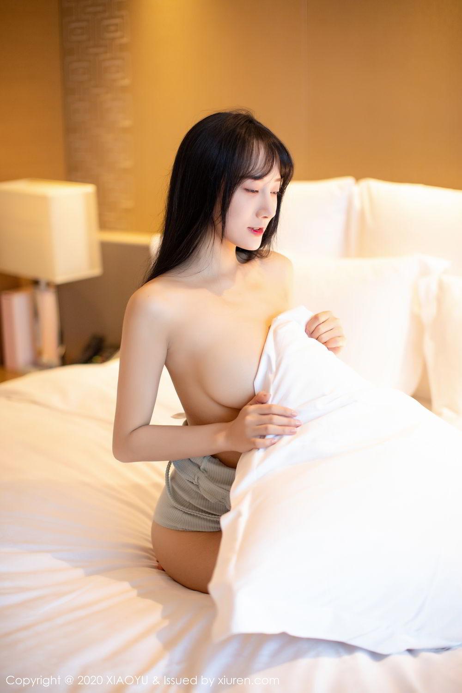 [XiaoYu] Vol.274 He Jia Ying 45P, Black Silk, He Jia Ying, Underwear, XiaoYu