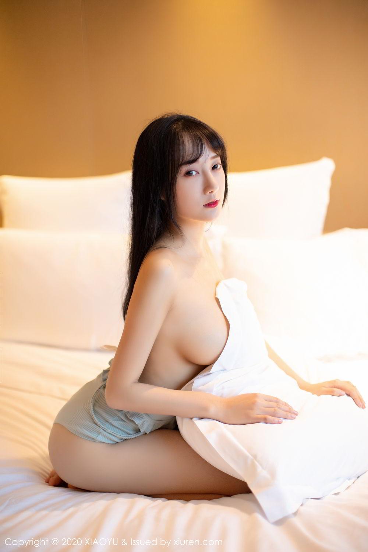 [XiaoYu] Vol.274 He Jia Ying 46P, Black Silk, He Jia Ying, Underwear, XiaoYu