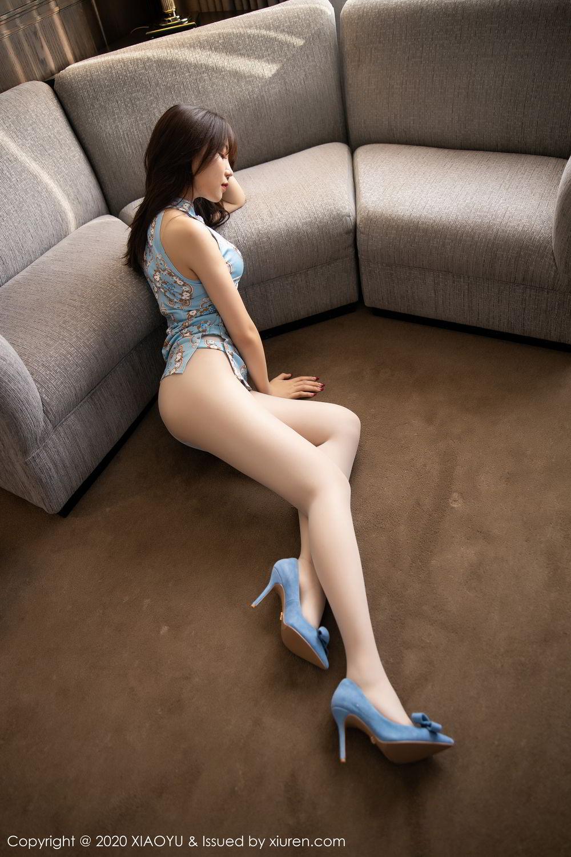 [XiaoYu] Vol.275 Zhi Zhi Booty 10P, Chen Zhi, Cheongsam, Tall, XiaoYu