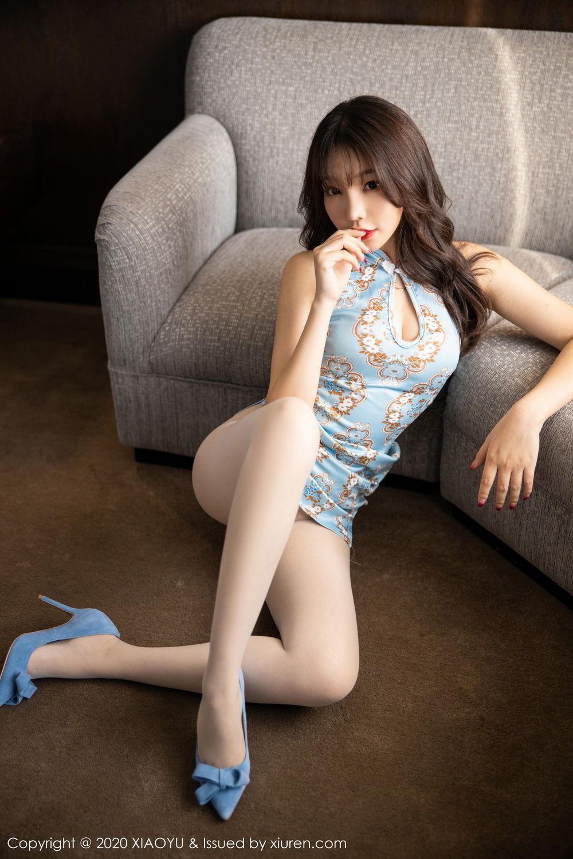 [XiaoYu] Vol.275 Zhi Zhi Booty 11P, Chen Zhi, Cheongsam, Tall, XiaoYu