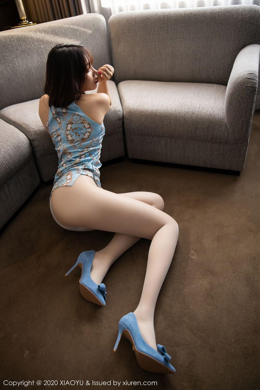 [XiaoYu] Vol.275 Zhi Zhi Booty 16P, Chen Zhi, Cheongsam, Tall, XiaoYu