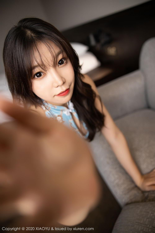 [XiaoYu] Vol.275 Zhi Zhi Booty 21P, Chen Zhi, Cheongsam, Tall, XiaoYu