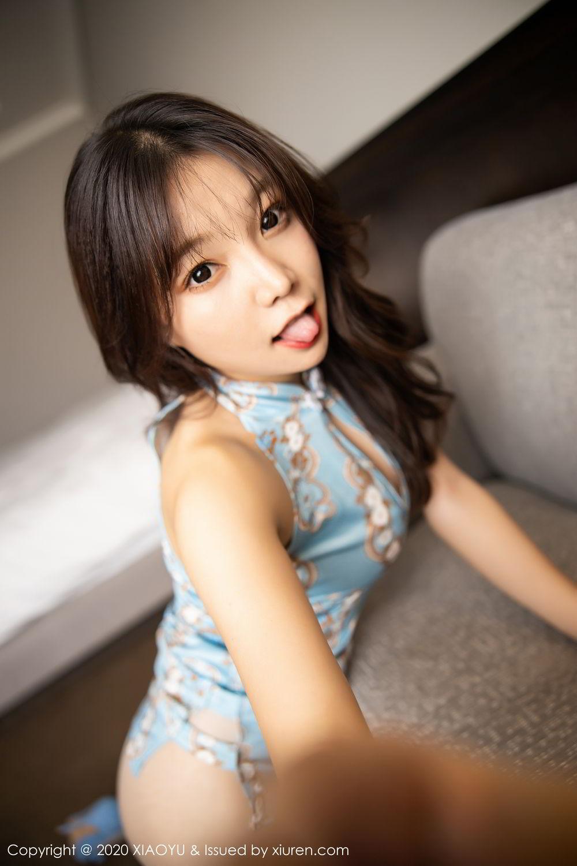 [XiaoYu] Vol.275 Zhi Zhi Booty 31P, Chen Zhi, Cheongsam, Tall, XiaoYu
