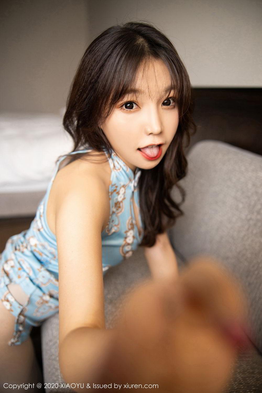 [XiaoYu] Vol.275 Zhi Zhi Booty 32P, Chen Zhi, Cheongsam, Tall, XiaoYu