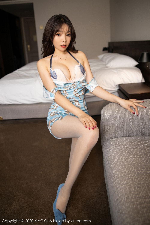 [XiaoYu] Vol.275 Zhi Zhi Booty 34P, Chen Zhi, Cheongsam, Tall, XiaoYu