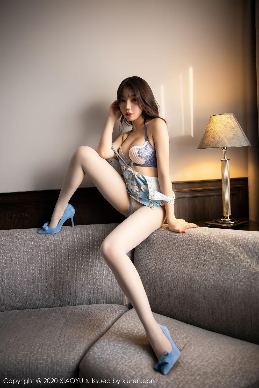 [XiaoYu] Vol.275 Zhi Zhi Booty 45P, Chen Zhi, Cheongsam, Tall, XiaoYu
