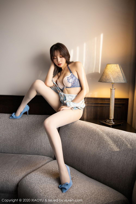 [XiaoYu] Vol.275 Zhi Zhi Booty 46P, Chen Zhi, Cheongsam, Tall, XiaoYu
