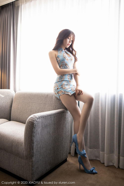 [XiaoYu] Vol.275 Zhi Zhi Booty 4P, Chen Zhi, Cheongsam, Tall, XiaoYu