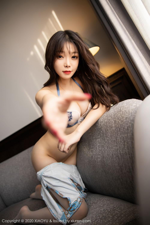 [XiaoYu] Vol.275 Zhi Zhi Booty 63P, Chen Zhi, Cheongsam, Tall, XiaoYu