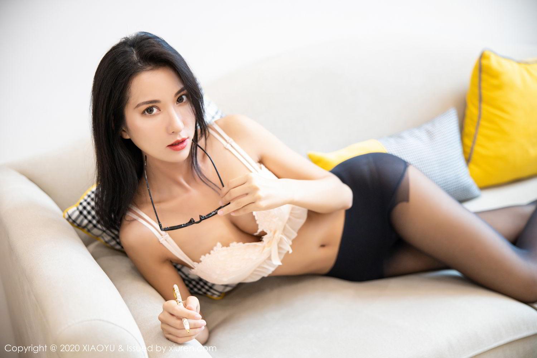 [XiaoYu] Vol.281 Carry 100P, Black Silk, Chen Liang Ling, Tall, XiaoYu