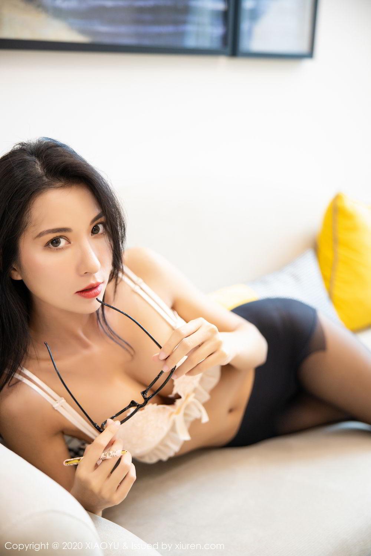 [XiaoYu] Vol.281 Carry 101P, Black Silk, Chen Liang Ling, Tall, XiaoYu