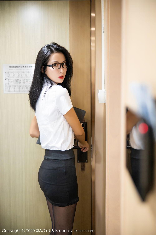 [XiaoYu] Vol.281 Carry 10P, Black Silk, Chen Liang Ling, Tall, XiaoYu