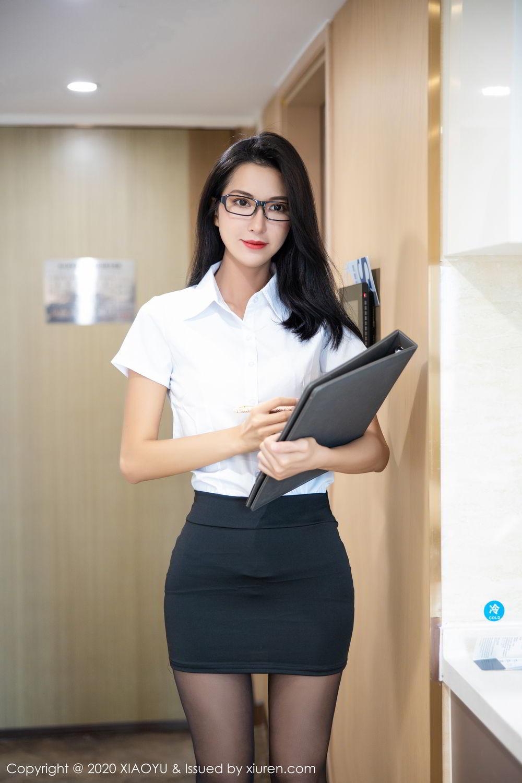 [XiaoYu] Vol.281 Carry 13P, Black Silk, Chen Liang Ling, Tall, XiaoYu