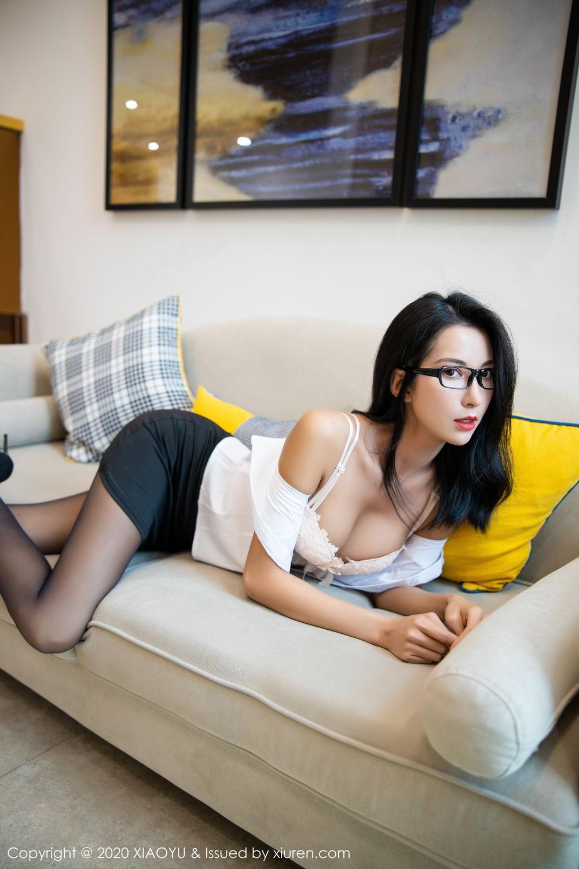 [XiaoYu] Vol.281 Carry 72P, Black Silk, Chen Liang Ling, Tall, XiaoYu