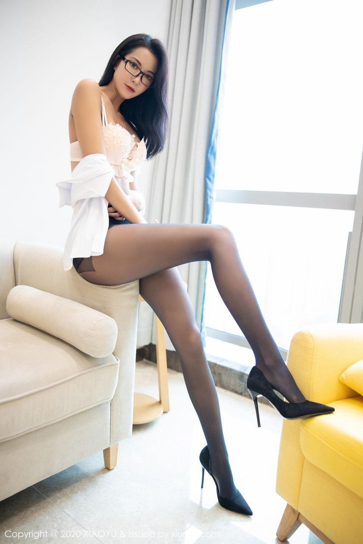 [XiaoYu] Vol.281 Carry 83P, Black Silk, Chen Liang Ling, Tall, XiaoYu