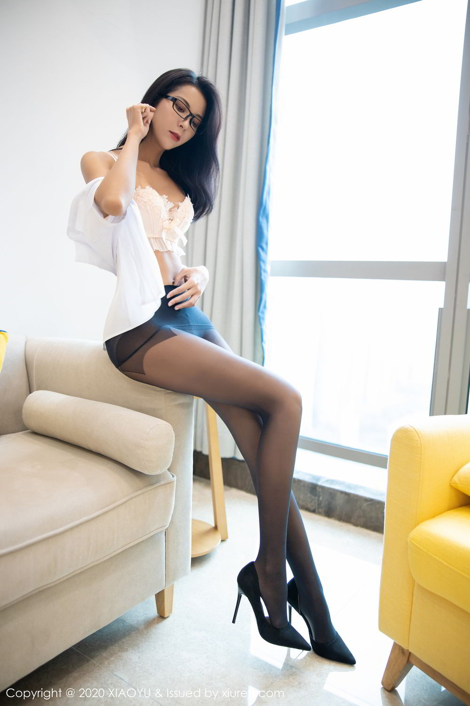 [XiaoYu] Vol.281 Carry 85P, Black Silk, Chen Liang Ling, Tall, XiaoYu