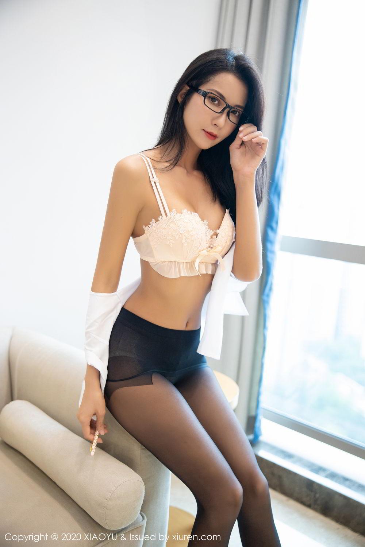 [XiaoYu] Vol.281 Carry 86P, Black Silk, Chen Liang Ling, Tall, XiaoYu