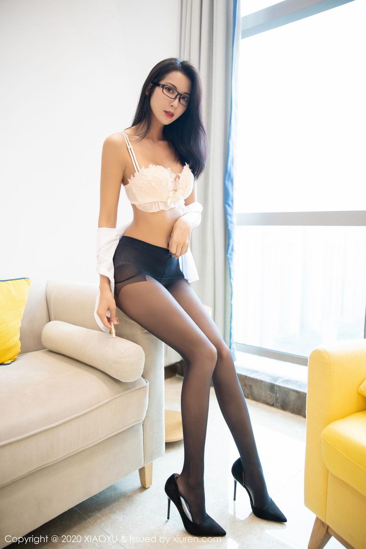 [XiaoYu] Vol.281 Carry 87P, Black Silk, Chen Liang Ling, Tall, XiaoYu