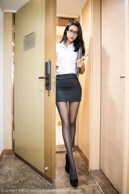 [XiaoYu] Vol.281 Carry 8P, Black Silk, Chen Liang Ling, Tall, XiaoYu