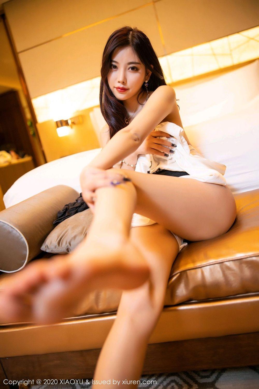 [XiaoYu] Vol.282 Yang Chen Chen 102P, Black Silk, XiaoYu, Yang Chen Chen