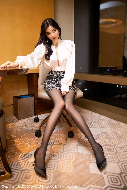 [XiaoYu] Vol.282 Yang Chen Chen 15P, Black Silk, XiaoYu, Yang Chen Chen