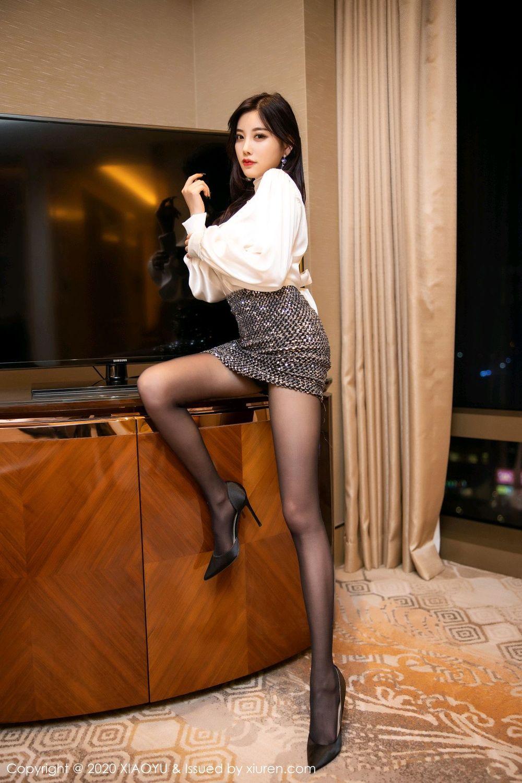 [XiaoYu] Vol.282 Yang Chen Chen 26P, Black Silk, XiaoYu, Yang Chen Chen