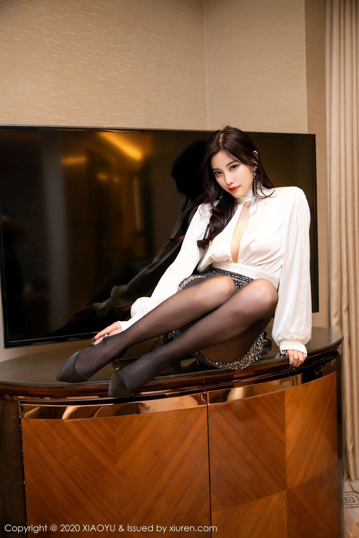 [XiaoYu] Vol.282 Yang Chen Chen 28P, Black Silk, XiaoYu, Yang Chen Chen