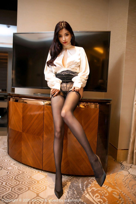[XiaoYu] Vol.282 Yang Chen Chen 43P, Black Silk, XiaoYu, Yang Chen Chen